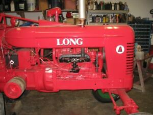 Long tractor