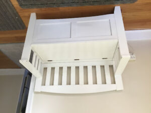 Bench for storage