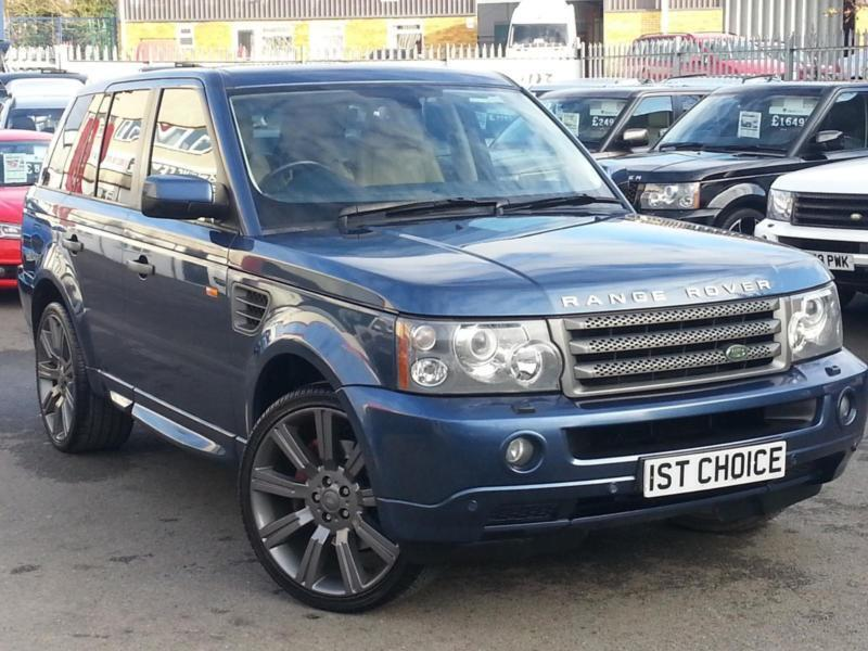 2007 land rover range rover sport tdv6 sport hse fantastic looking range rover in faringdon. Black Bedroom Furniture Sets. Home Design Ideas