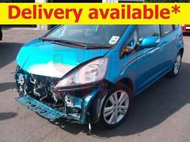 2011 Honda Jazz I-Vtec EX 1.4 DAMAGED REPAIRABLE SALVAGE