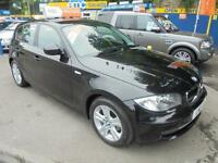 2011 11 BMW 1 SERIES 116D SE 2.0 IN BLACK # ONLY 30 POUND PER YEAR RFL #