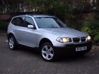 AA WARRANTY!! 2004 BMW X3 2.5 i SE 5dr AUTO, 4x4 FULL LEATHER, 1 YEAR MOT
