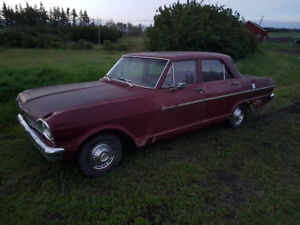 62,63, 64 pontiac acadians. one canso two invaders
