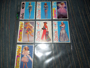 BARBIE TRADING CARDS