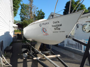 Shark 24 Sailboat and trailer for sale