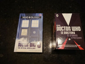 "Doctor Who Book set: ""12 Doctors"" and ""The Official Miscellany"""