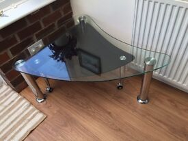 Tempered glass Barker and Stonehouse coffee table