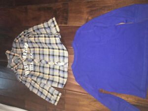 Boys clothing from 2 years young to 4 years young
