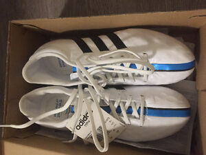 Real Learher Soccer Cleats Adidas