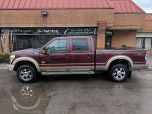**2011 Ford F-250 Super Duty King Ranch**