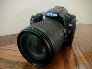 Nikon D90 with 18-105mm