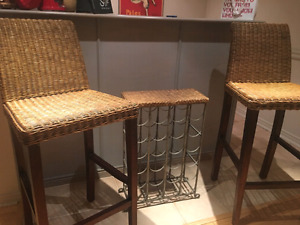 Solid wood high chairs