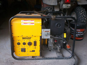 Winco 5.5kw diesel generator