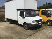 repairs spares fitted transit 2,4 rwd engine box ally body luton