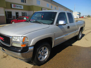 2002 GMC Sierra EC Short box 4x4
