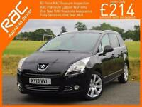 2013 Peugeot 5008 1.6 e-HDI Turbo Diesel FAP Allure EGC 6 Speed Auto 7 Seater MP
