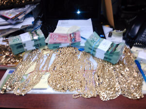 Paying cash for your Jewellery