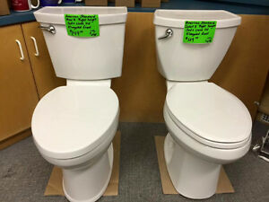 NEW AMERICAN STANDARD CADET 3 TOILETS - TALL/ROUND BOWL