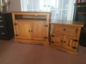 Small Unit and Nightstand