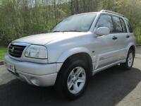 04/54 SUZUKI GRAND VITARA 2.0 16V 4X4 ESTATE IN MET SILVER WITH NEW MOT
