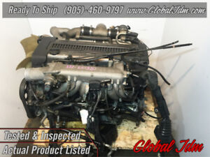JDM Toyota 1JZ-GTE Engine Twin Turbo NONVVTI Rear Sump Motor 2.5