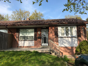 Bright and Clean 3-bedroom main floor of home in Ajax