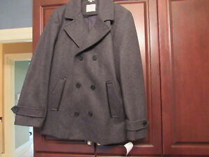 Men's Pea Coat, brand new with tag