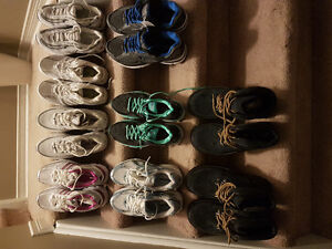 Various brand new shoes or boots