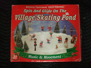"""Spin and Glide on theVillage Skating Pond"" Strathcona County Edmonton Area image 1"