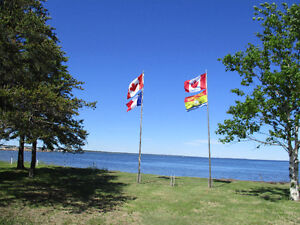 Waterfront Property (8.5 acres)- Lameque NB