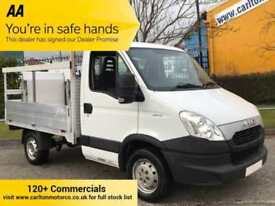 2013/ 63 Iveco Daily 2.3TD 35S13 Swb Dropside+T/Lift 9ft Alloy Body 3000wb