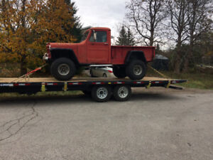 towing hauling moving