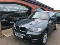 2012 '62' BMW X5 3.0TD xDrive AUTO SE METALLIC GREY BLACK LEATHER