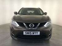 2015 NISSAN QASHQAI N-TEC + DIG-T PANORAMIC ROOF SERVICE HISTORY FINANCE PX