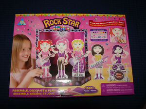 Rock Star Mosaic Art.    Stage and Dolls