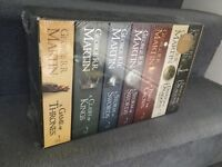 Game of Thrones NEW complete box set