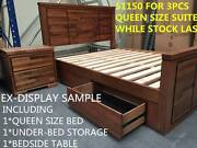 FACTORY PRICE- SOLID AU HARDWOOD QUEEN BED KING BEDROOM SUITES Dandenong South Greater Dandenong Preview