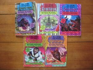 Goosebumps Books ~ Reader Beware.. You Choose the SCARE!