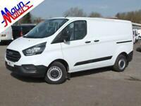 """2018 """"68"""" Ford Transit Custom 300 TDCi 'Base', Euro 6, SWB, Low Roof Panel Van"""