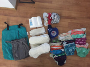 Cloth Diapers with Accessories for Sale