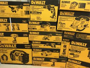 Brand New Dewalt XR Brushless tool