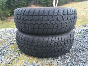 Two 185/65R14 Winter Tires