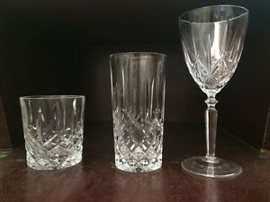 Riedel Crystal glass set