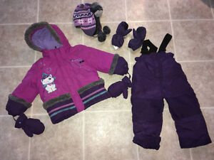 Habit d'hiver & manteaux fillettes (Girl's Snowsuit & Jackets )