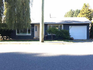House for Rent Available 1 Nov in Mission, BC