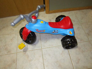 Plastic tricycle Thomas the Tank