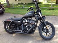 2012 HD Iron 883 converted into 1200