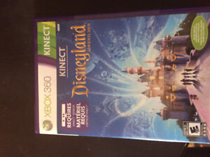 XBOX 360 Disneyland Game. Kinect