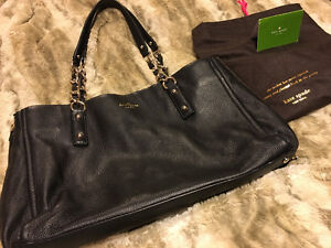Kate Spade leather bag Black. Brand New