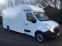 Vauxhall Movano F3500 LWB LoLoader high volume (Maximover) luton van